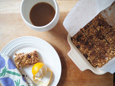 Simple and sweet granola bars