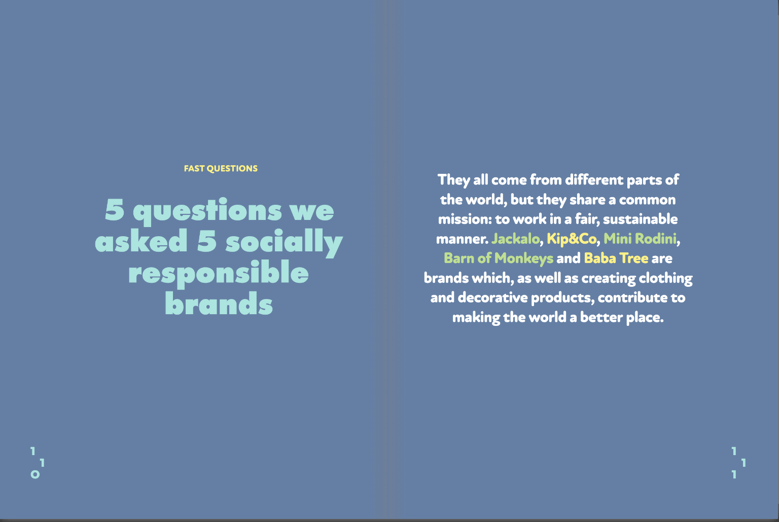 Sustainable Brands in Lemon Magazine