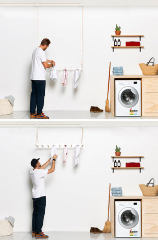Modern ceiling drying rack