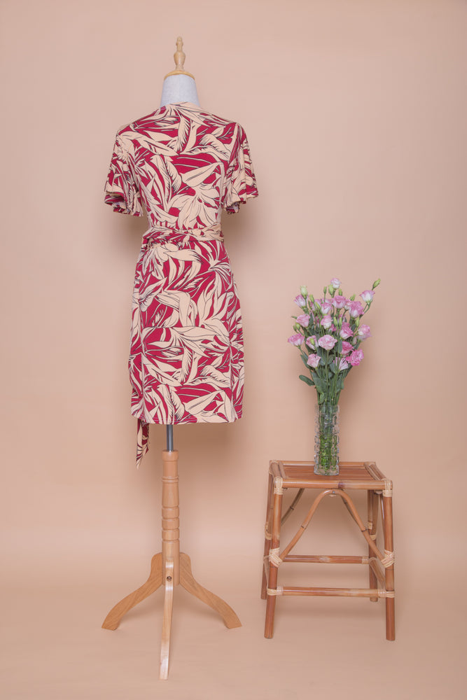 Aja Standard Wrap Dress