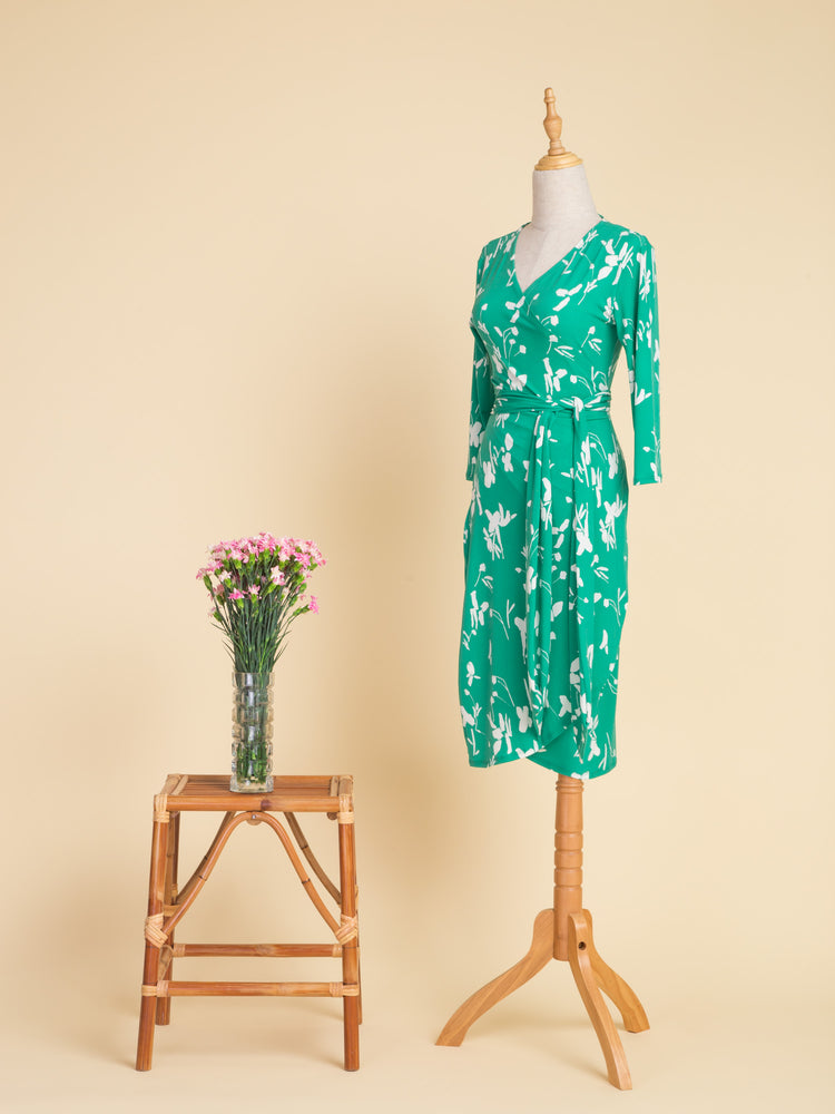 Melanie Midi Wrap Dress