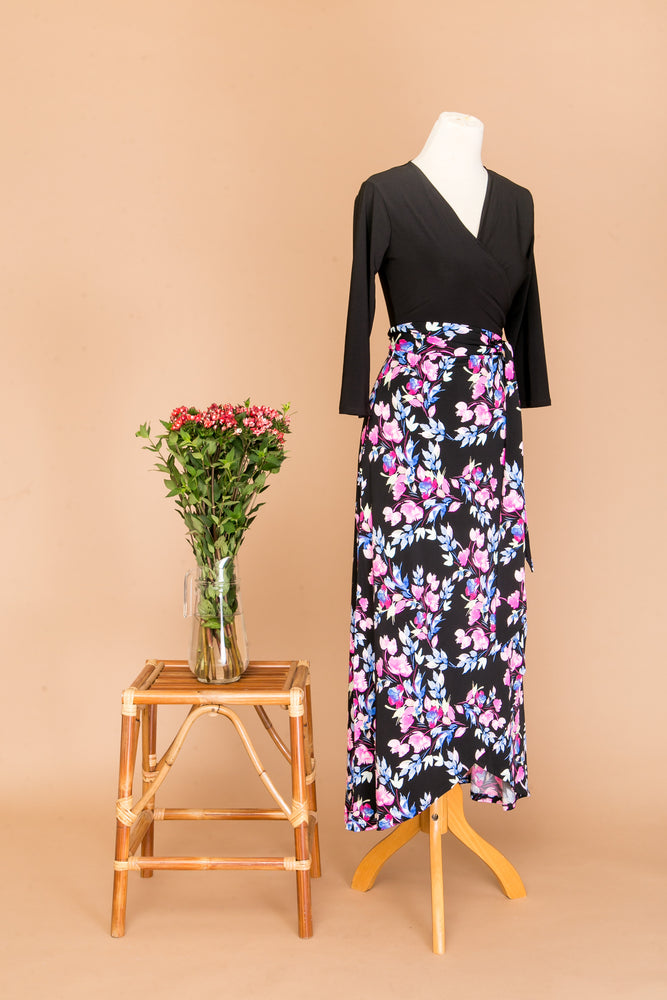 Vasique Maxi Wrap Dress