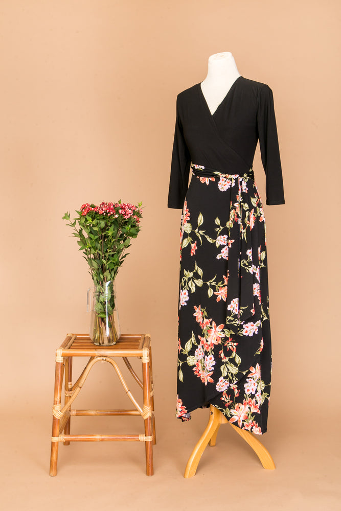 Jessique Maxi Wrap Dress