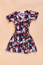 KIDS: Aman Junior Wrap Dress