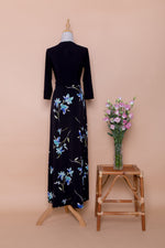 Eugenie Maxi Wrap Dress