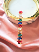 Multi-colour Crystallized Hair Clip