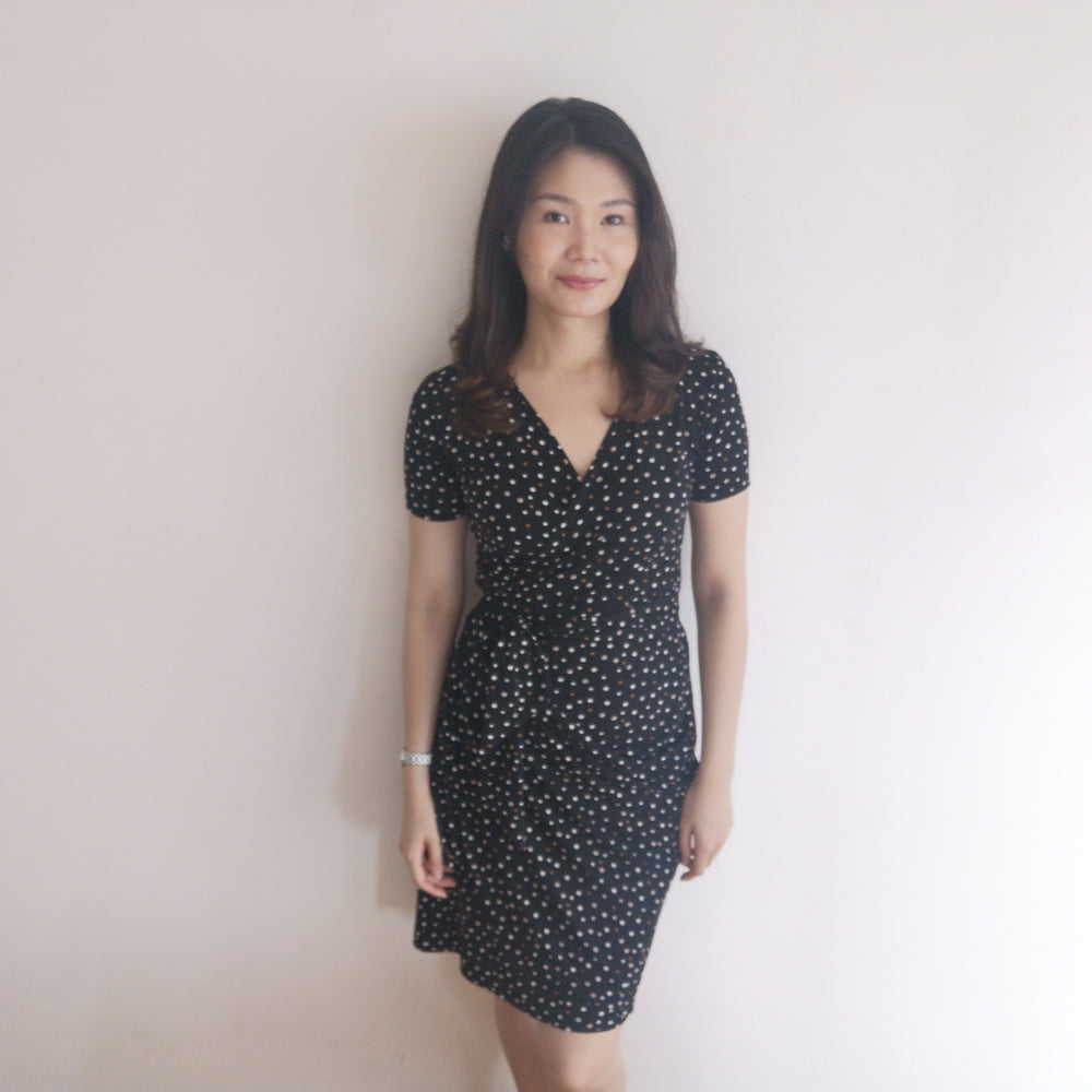 Convertible 2-way Midi Wrap Dress (Lagenda)