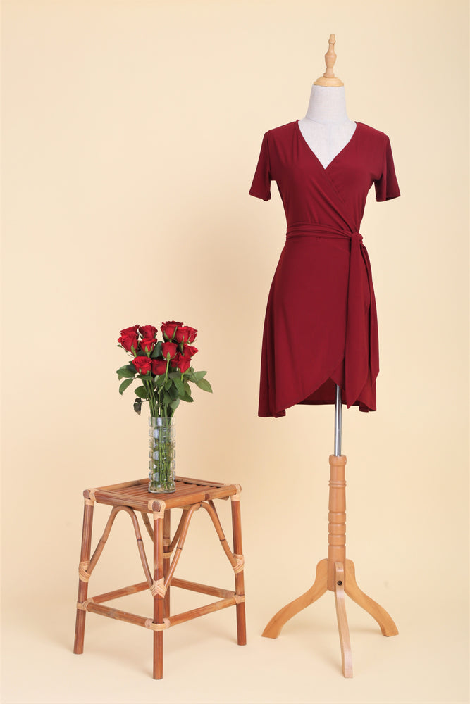 Scarlet Standard Wrap Dress