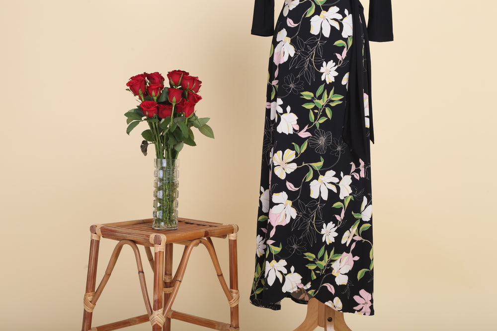 Jess Maxi Wrap Dress