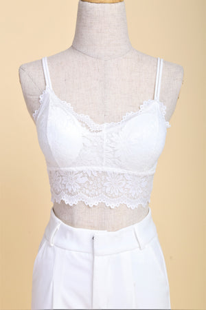 Load image into Gallery viewer, Soft Comfort Lace Bralette (Milk)