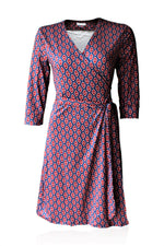 Luna Slim Fit Standard Wrap Dress