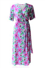 Peace Maxi Wrap Dress