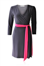 Pink Sesame Standard Wrap Dress