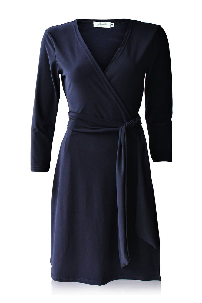 Espresso Standard Wrap Dress