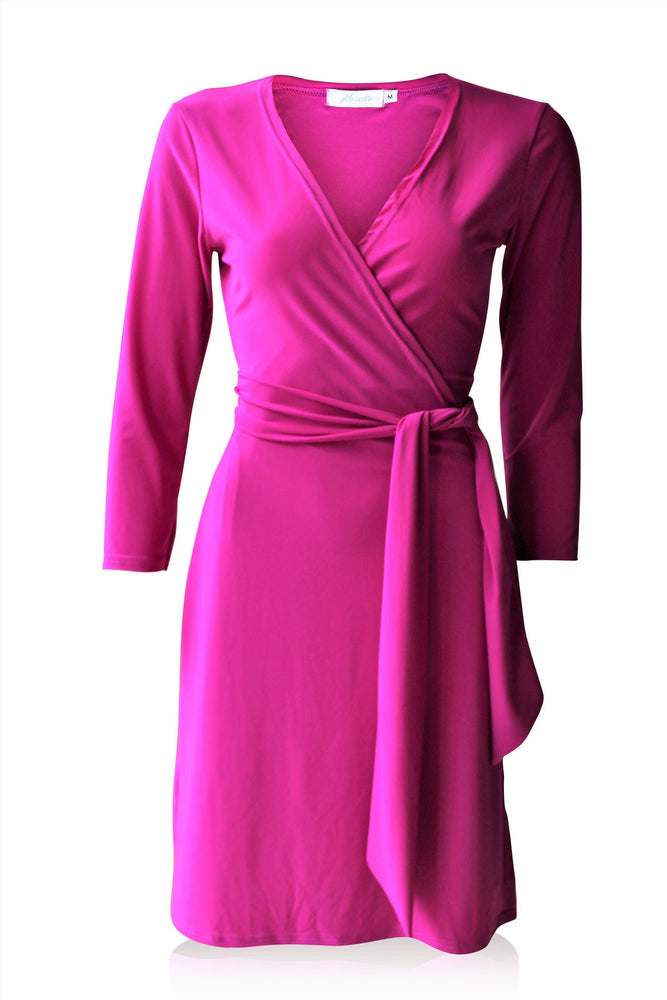 Beetroot Standard Wrap Dress