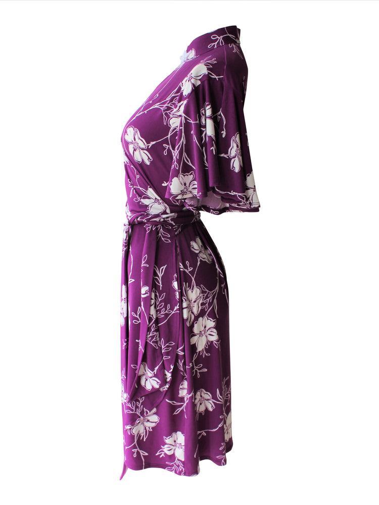 Ying Cheongsam Wrap Dress