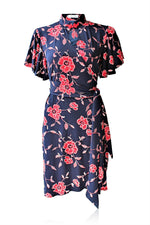 Joy Cheongsam Wrap Dress