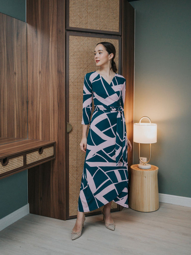 Nea Maxi Wrap Dress