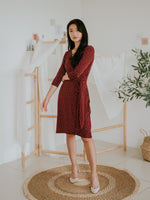 Menik Midi Wrap Dress