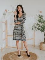 Lavie Midi Wrap Dress