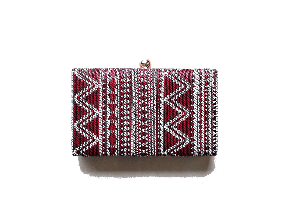 Mekar Weaved Clutch