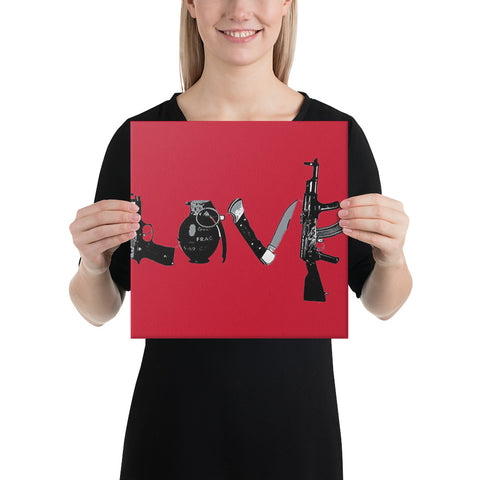 Love & War Canvas