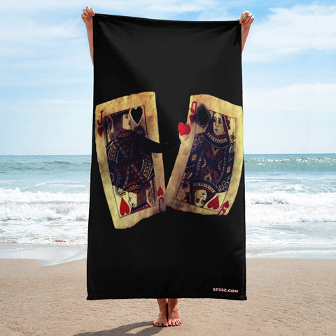Heart Dealer Towel