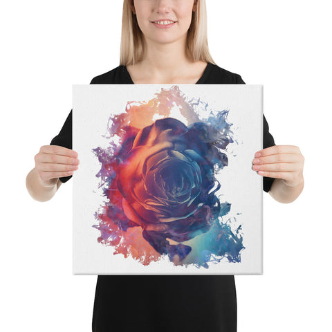 Smokey Rose Canvas