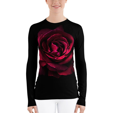 HD Rose Women's Active Wear Top