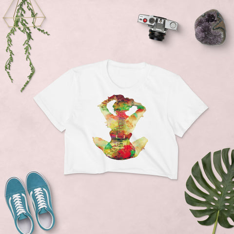 Guitar Girl Women's Crop Top