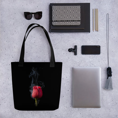 Smokey Rose Tote bag