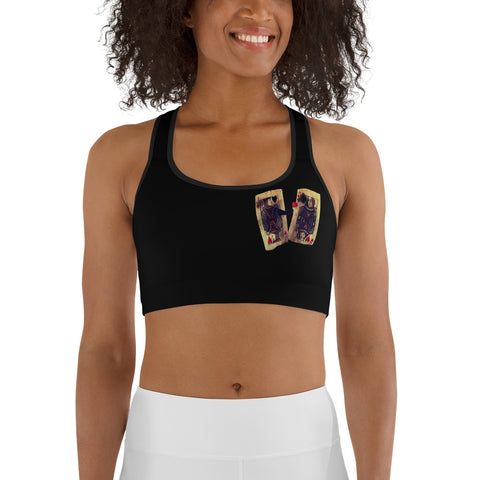 Heart Dealer Sports bra