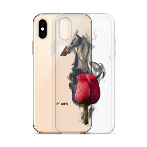 Smokey Rose iPhone Case