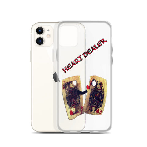 HEART DEALER iPhone Case