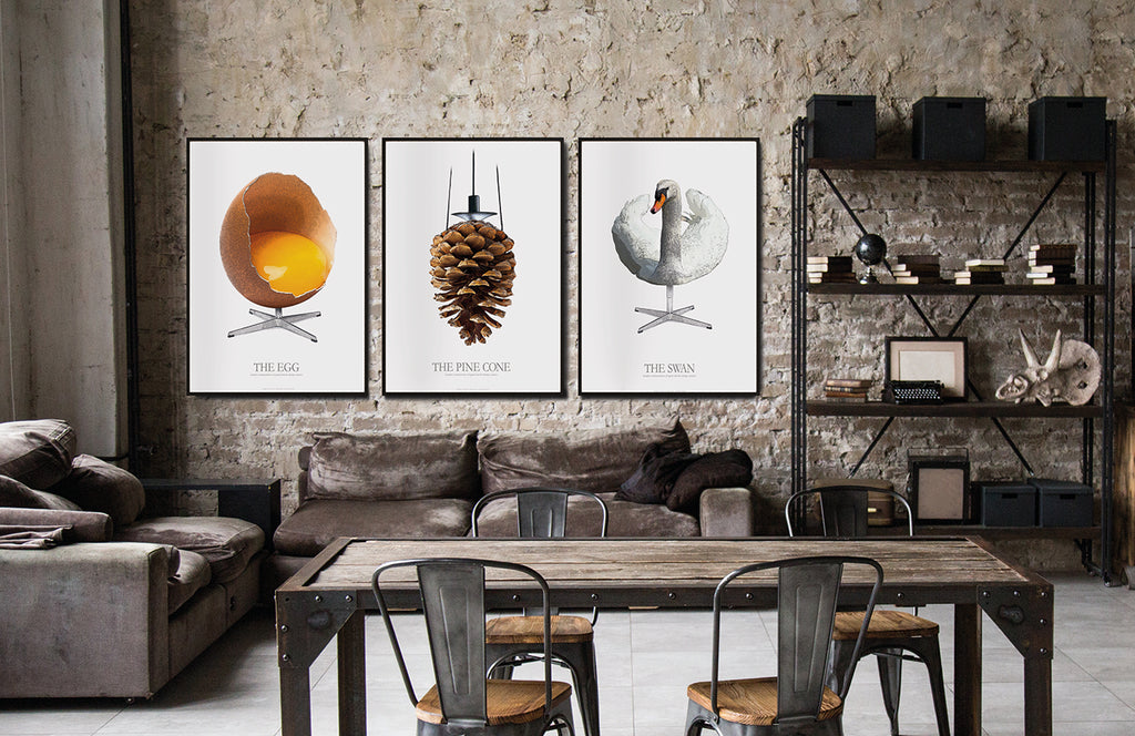 THE PINE CONE - Graphic interpretation of great Danish design classics
