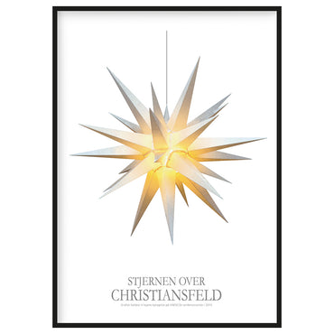 Plakat - Stjernen over Christiansfeld