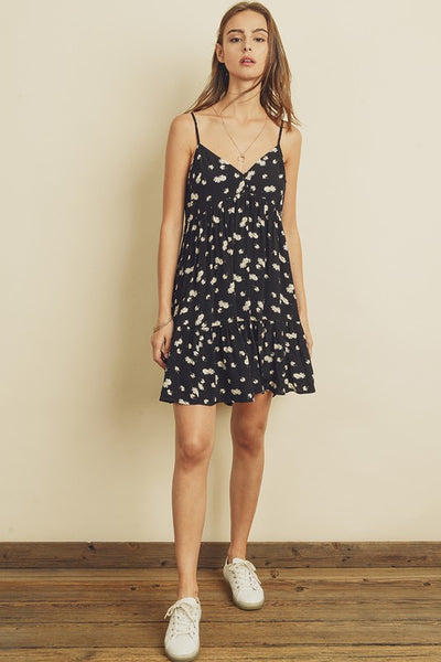 DAISY SWINGING MINI DRESS