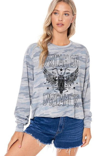 DREAM ON DREAMER SWEATER