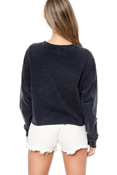 DREAM ON DREAMER SWEATER - BLACK