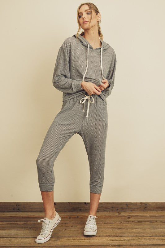 MINI HOUNDSTOOTH TRACKSUIT