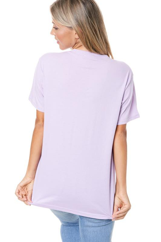 DREAMER BUTTERFLY TEE - LILAC