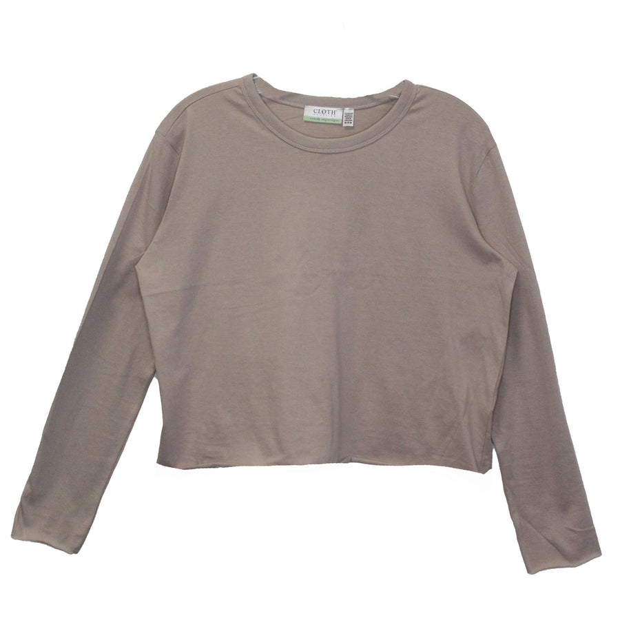 GINA BASICS SWEATSHIRT - ROSE TAUPE