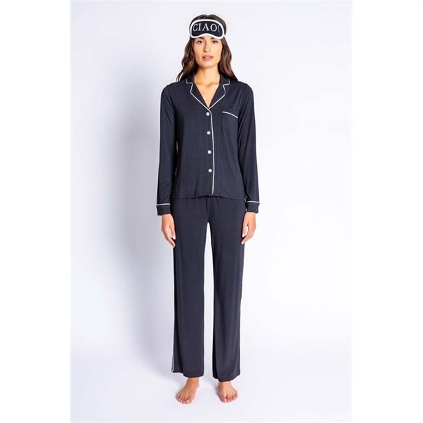MODAL BASICS BLACK PJ SET
