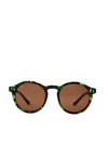 HUDSON SUNGLASSES - GREEN TURTLE