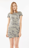HOLLY CAMO T SHIRT DRESS