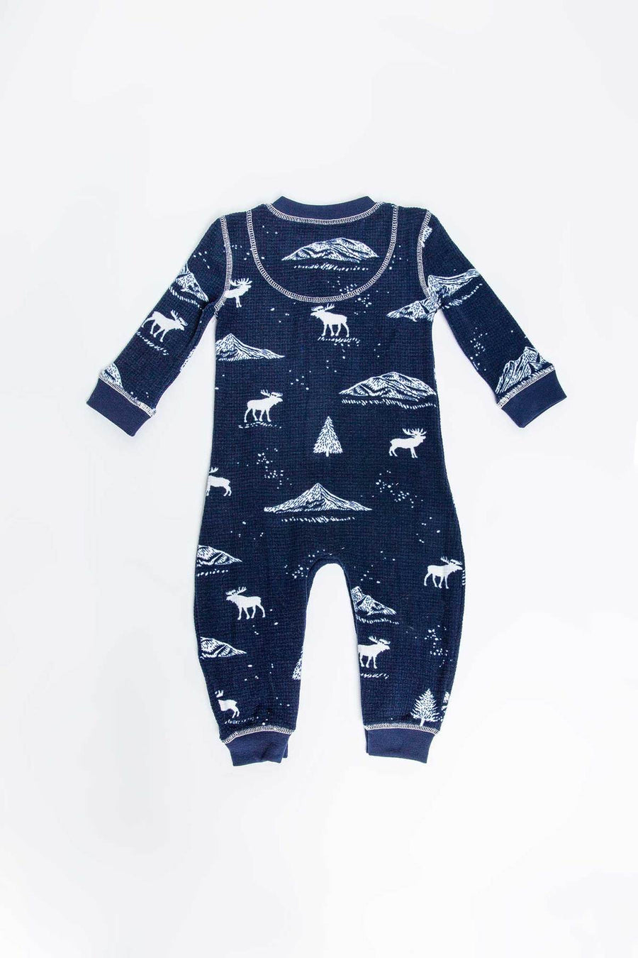 LET'S GET TOASTY MOOSE INFANT ROMPER