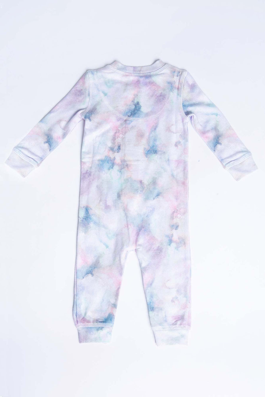 PEACHY MARBLE TIE DYE ROMPER - INFANT