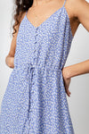 FRIDA SKY BLUE DAISY DRESS