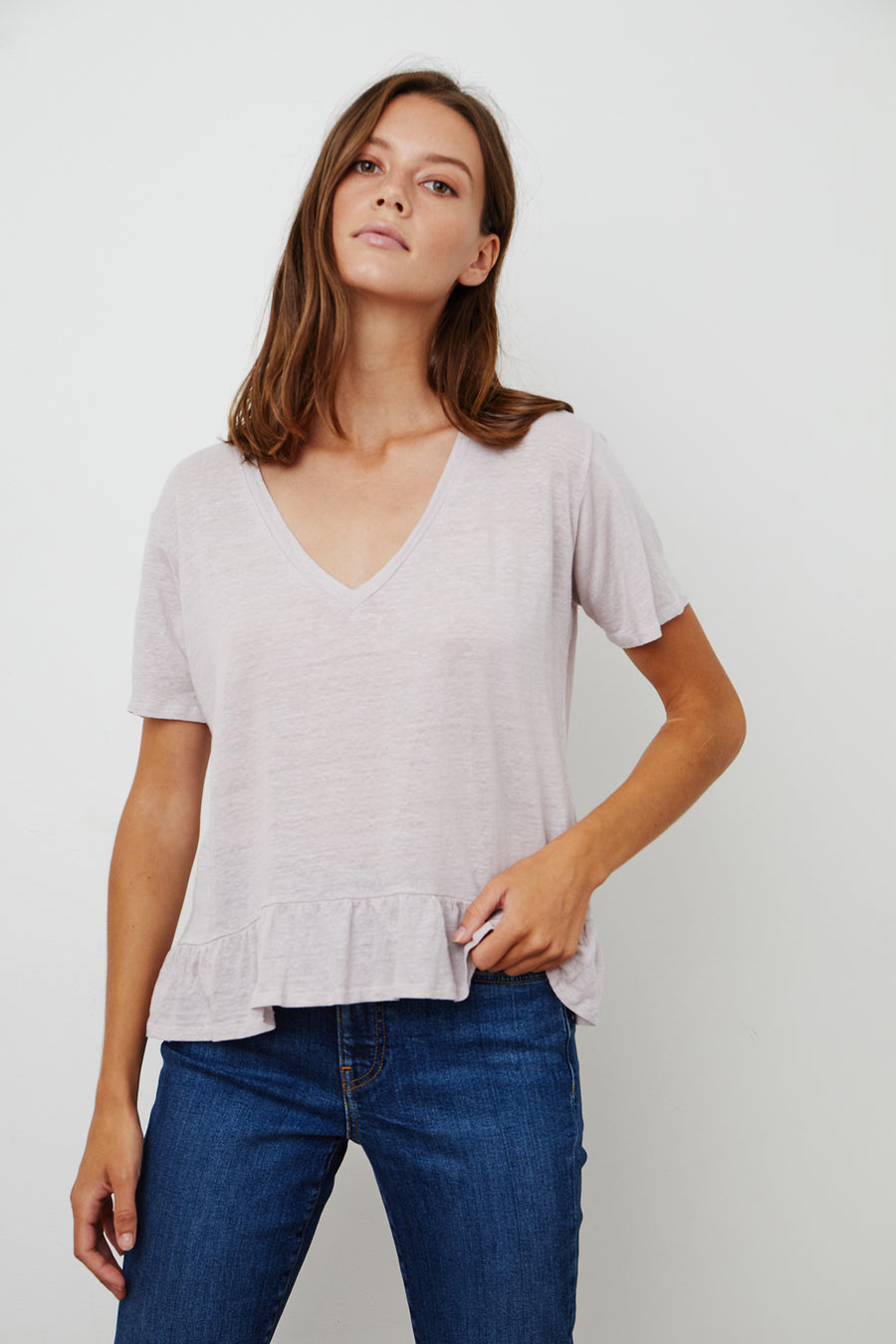 LINAH TOP - WHITE