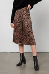 MAYFAIR - CINNAMON MIXED ANIMAL SKIRT